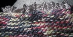 Olympic knitting sleeve edge